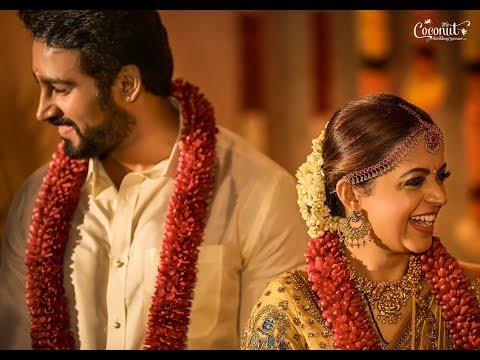 Actress Bhavana & Naveen Wedding Highlights [Official]