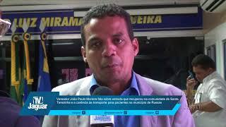 João Paulo aponta ações de recuperação da estrada de Santa Terezinha.