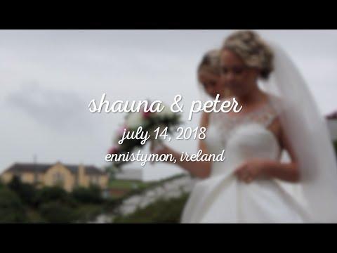 shauna & pete's ireland wedding