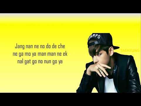 BTS-Danger easy lyrics