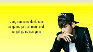 BTS-Danger easy lyrics
