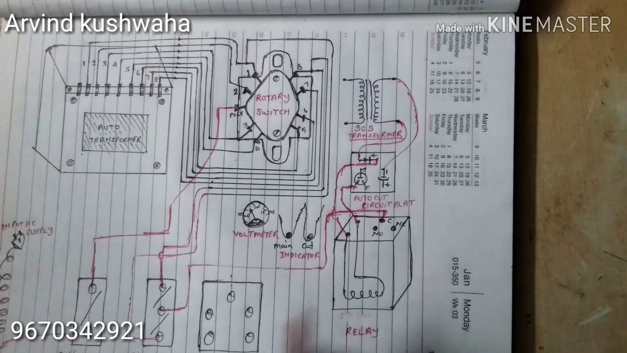 small resolution of auto cut voltege stabilizer wiring diagram