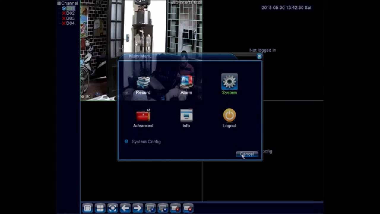 How to add Onvif IP Camera to Network Video Recording NVR