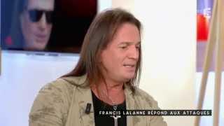 Francis Lalanne répond aux attaques - C à vous- 21/09/2015