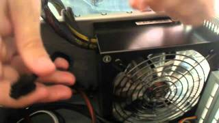 How To Connect Power To SSD & Hard Drive 2012 - Step 12
