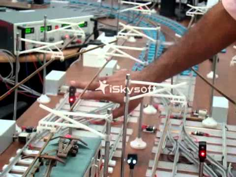 Rail Signalling Working Model - XIV
