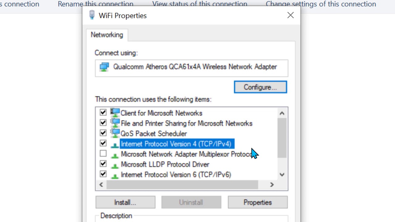 How To Enable Netbios Over Tcp Ip In Windows 10 Youtube