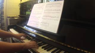 Praeambulum BWV 927 by J S  Bach AMEB Piano for leisure Grade 3 Series 2