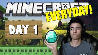 Every Day Minecraft: Our Adventure Begins #1 [Minecraft 1.9 Let