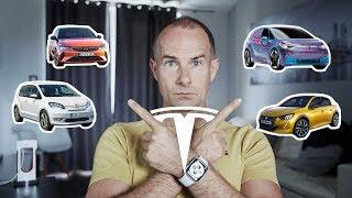 Tesla zuhanás, jön az elektromos Opel - Peugeot, Volkswagen - Skoda