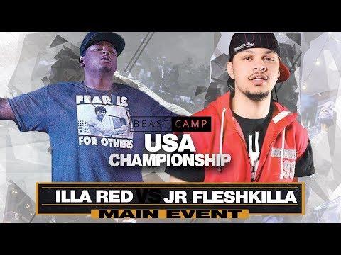 JR Fleshkilla vs Illa Red | The Beast Camp USA Championship