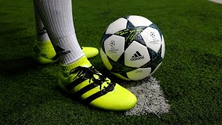 Review & on feet: adidas ace 16.1 primeknit - solar yellow/ black