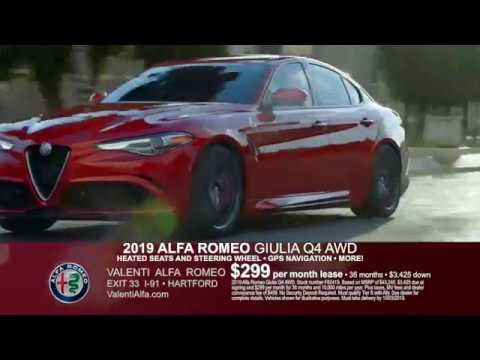 Alfa Romeo Lease >> Valenti Alfa Romeo September 2019 Lease Specials Giulia Stelvio