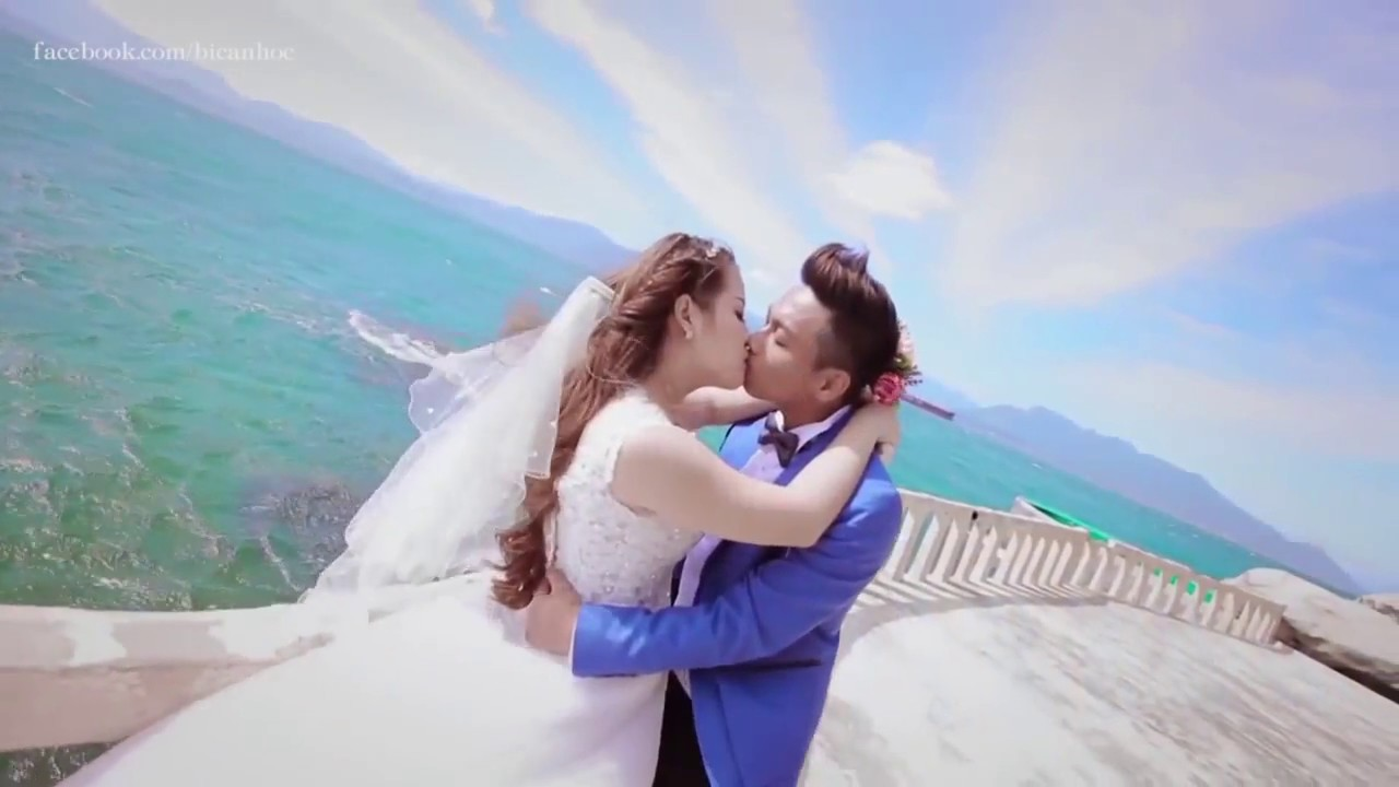 Cảnh Quay Đám cưới siêu Lãng Mạng như phim Hàn bằng Flycam - PC038