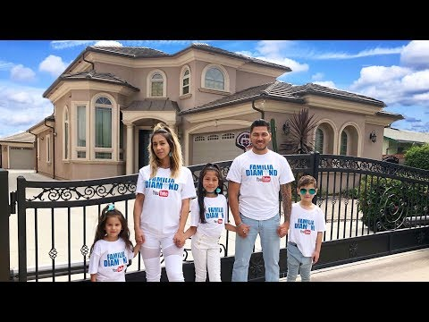 HOUSE TOUR!! | Familia Diamond