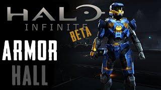 Halo Infinite Beta   All Armor Pieces