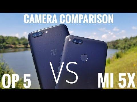 Xiaomi Mi 5X VS Oneplus 5 Camera Comparison