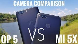 Xiaomi Mi 5X VS Oneplus 5 Camera Comparison