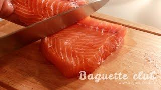 Как засолить рыбу (Рецепт малосольной семги).