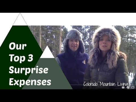 Our Top 3 Expenses Getting Started on our Homestead in Colorado