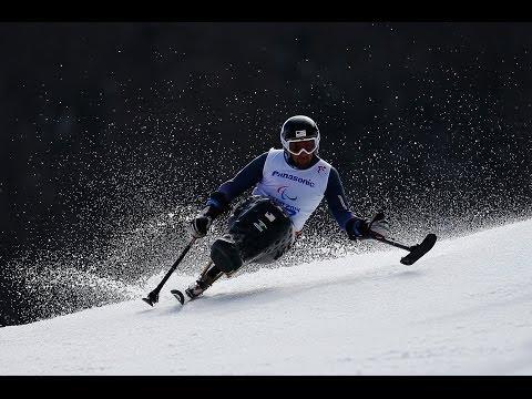 Christopher Devlin-Young (1st run)   Men's giant slalom sitting   Alpine skiing   Sochi