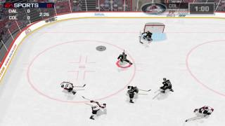NHL 99 - pc gameplay, windows 7 (OT lose)