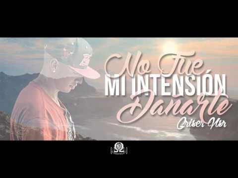 No Fue Mi Intencion - Griser Nsr (Video Lyrics)