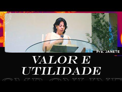 CMB Online - 26/07/2020 - Pra. Janete F. Miguel #JuntosPelaCMB