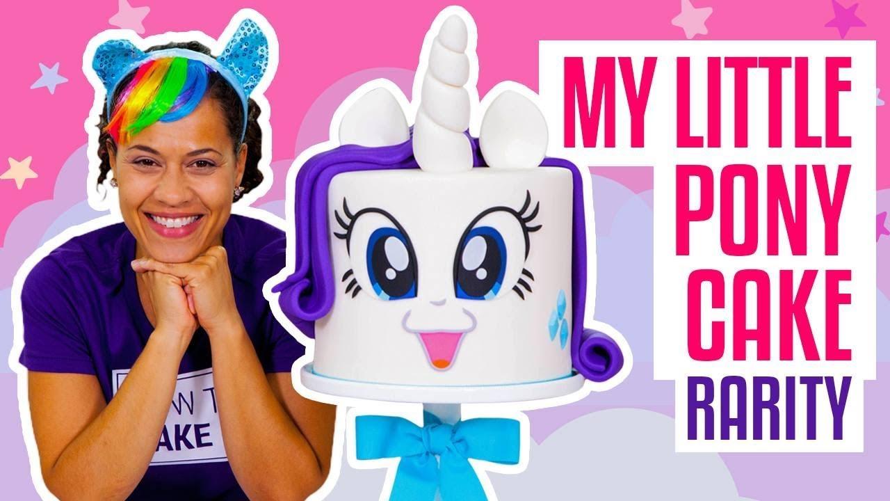 how-to-make-a-fabulous-my-little-pony-rarity-unicorn-funfetti-cake-yolanda-gampp-how-to-cake-it