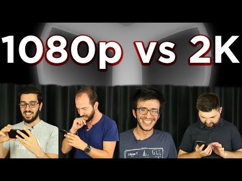 1080p Full HD vs 2K ÇÖZÜNÜRLÜK! - BAKALIM ANLAYABİLECEKLER Mİ?