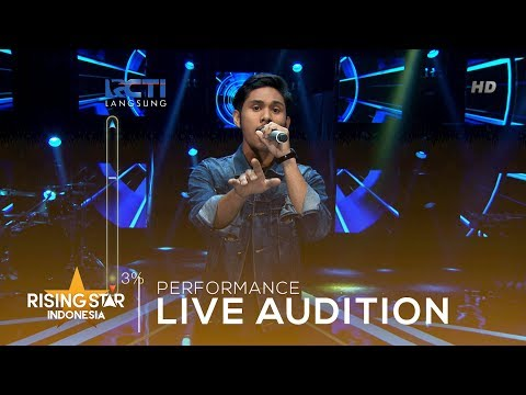 Elvan Saragih 'Everytime I Close My Eyes'  | Live Audition 3 | Rising Star Indonesia 2019