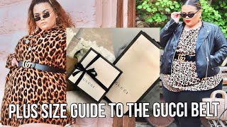 GUCCI BELT FOR PLUS SIZE 101 - EVERYTHING YOU NEED TO KNOW♡♡ |GABRIELLAGLAMOUR