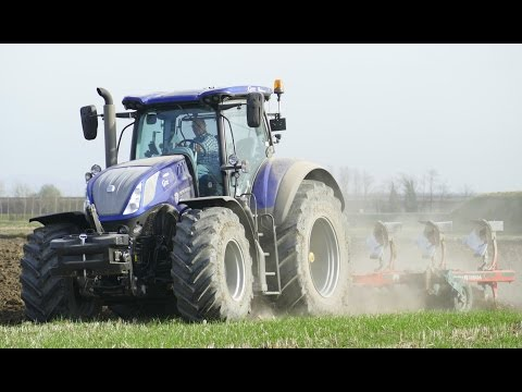 New Holland T7.315 Heavy Duty Blue Power | T7050 | Supertino SP140 | Vogel&Noot