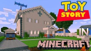 Minecraft: Toy Story Andy Davis' House Tour