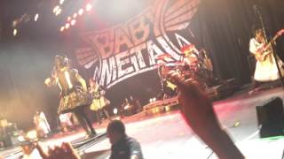 Babymetal Death live at The Hollywood Palladium.