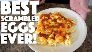 Best Scrambled Eggs Recipe Ever - mexican scrambled eggs - fast breakfast - healthy food - recipes