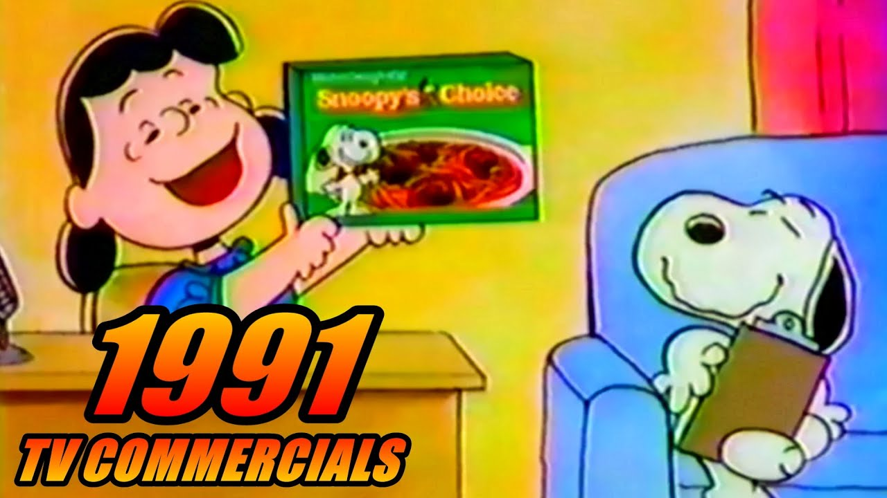 Download 1991 TV Commercials - 90s Commercial Compilation #23