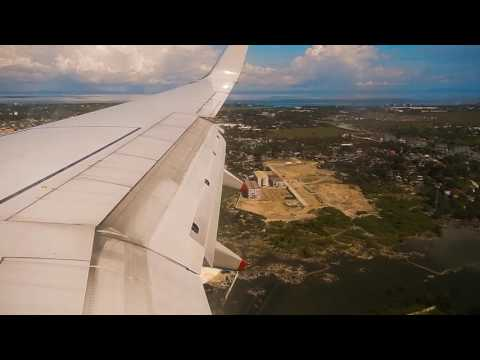 Landing At Cebu Airport