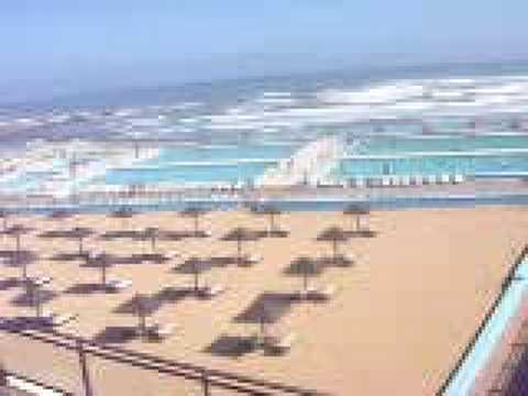plage et piscine miami la c te de casablanca youtube. Black Bedroom Furniture Sets. Home Design Ideas