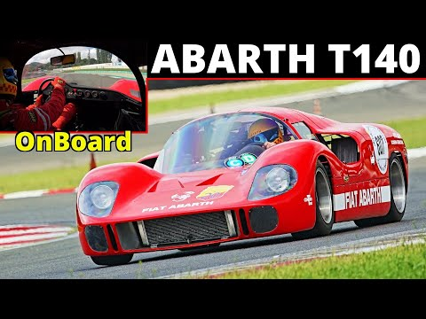 Abarth T140 Recreation: The 1967 V12-Engined Sports Prototype That Was Never Built.