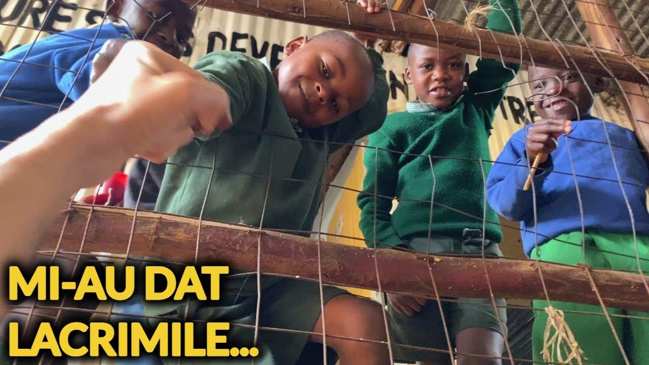 MI-AU DAT LACRIMILE ÎN CEA MAI SĂRACĂ ȘCOALĂ DIN NAIROBI, KENYA!