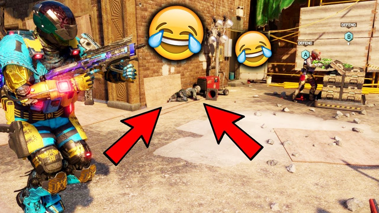 EPIC NINJA DEFUSE!!!! (BLACK OPS 3 SEARCH & DESTROY Funny Moments)