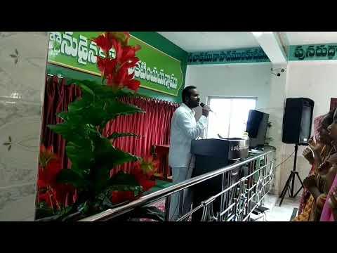 Sunday worship by pastor. Joseph anna