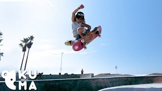 Awesome Kids - 9 Year Old Pro Skateboarder Destroys the Venice Skatepark