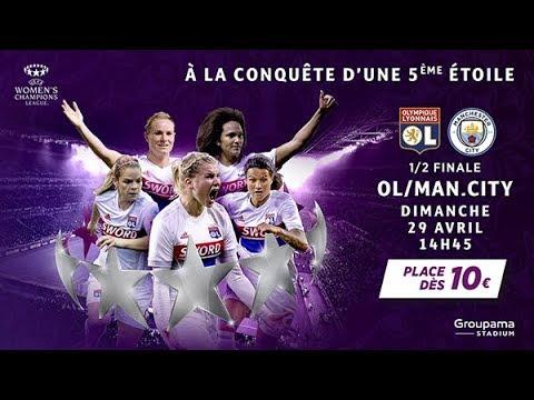 Olympique Lyonnais Féminin / Manchester City