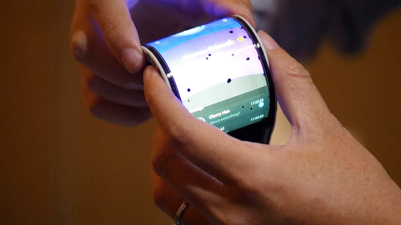 Lenovo Flexible Smartphone and Tablet Concept