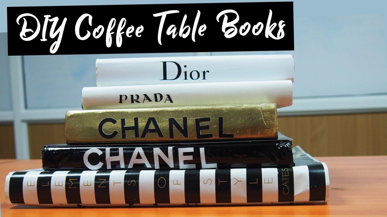 coffee table books decor best designer books diy chanel prada dior