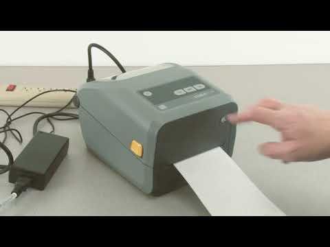 Zebra ZD620 Desktop Label Printer: Getting Started