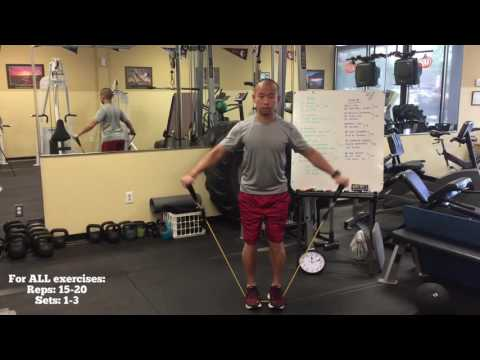 At Home: Travel Exercise Band Routine