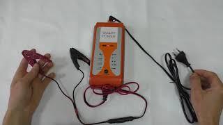 видео Зарядное устройство BERKUT SMART
